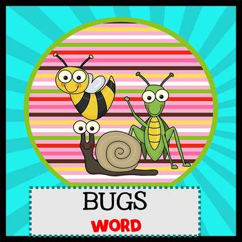 BUGS and INSECTS - Newsletter Template WORD