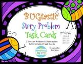 BUGtastic Story Problem Task Cards (Addition, Subtraction, Multi-step)
