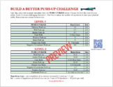 BUILD A BETTER PUSH-UP - 30-day Challenge