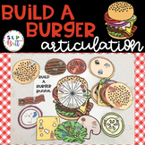 BUILD A BURGER - ARTICULATION (SPEECH & LANGUAGE THERAPY)