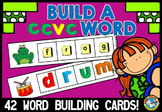 MAGNETIC LETTER ACTIVITIES (BUILD A CCVC WORD BUILDING CENTER)