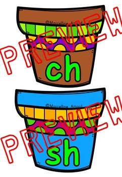 SPRING ACTIVITIES DIGRAPHS GAME (SH, CH, TH, WH, PH DIGRAPHS CENTER)