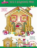 Build a Gingerbread Home Clip Art Download