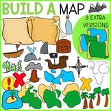 BUILD A MAP CLIP ART | TREASURE MAP