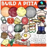Build A Pizza Clip Art Bundle {Educlips Clipart}