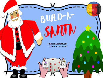 BUILD-A-SANTA - TREBLE/BASS CLEF GAME