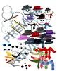 BUILD A SNOWMAN BIG BUNDLE CHRISTMAS WINTER CLIPART