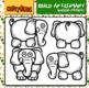 BUILD AN ELEPHANT - CLIP ART FREEBIE