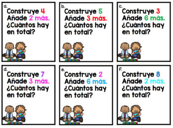 BUILD AND ADD MORE in SPANISH