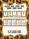 B.U.I.L.D Center Signs : Safari Theme