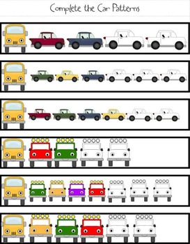 BUILD Grade 1 Patterns and Relations