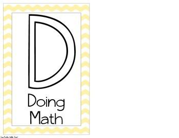 BUILD Math Center Labels