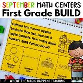 BUILD Math Centers for First Grade SEPTEMBER