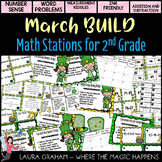 BUILD March  Math Centers for Second Grade Common Core