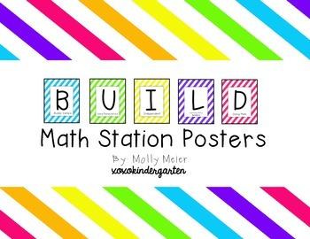 BUILD Math Posters Freebie