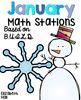 BUILD Math Stations {Winter Bundle}
