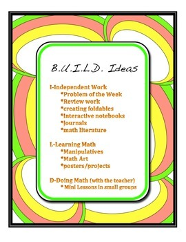 BUILD Mathematics