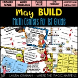 BUILD May Math Centers for First Grade