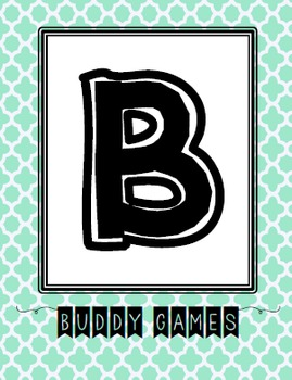 BUILD math stations posters (multicolored)