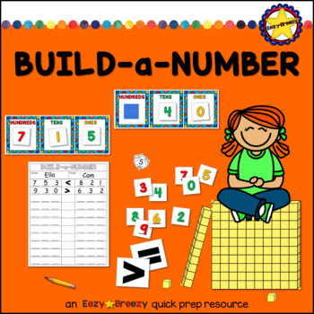 BUILD-a-NUMBER place value game