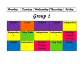 BUILD math rotation schedule (slightly modified)