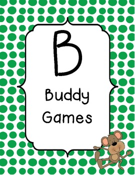 BUILD math station signs with monkey / jungle theme
