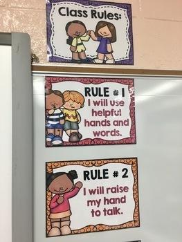 BUILDING BLOCKS THEME: Class Rules