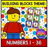 BUILDING BLOCKS THEME: Numbers 1-36