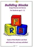 BUILDING BLOCKS  -  developing musical skills