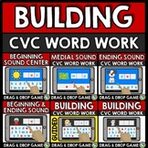 BUILDING CVC WORD WORK BOOM CARDS DISTANCE LEARNING KINDER