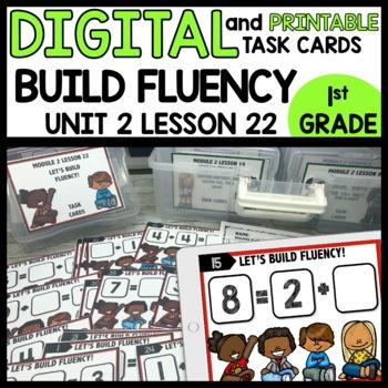 BUILDING FLUENCY DIGITAL/PRINTABLE TASK CARDS
