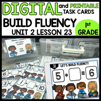 BUILDING FLUENCY DIGITAL TASK CARDS | PRINTABLE TASK CARDS