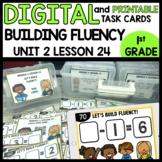 BUILDING FLUENCY (subtraction)  DIGITAL TASK CARDS | PRINT