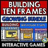BOOM CARDS NUMBERS 1-10 (BUILDING TEN FRAMES ACTIVITIES) I