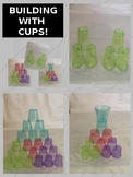 BUILDING WITH CUPS!