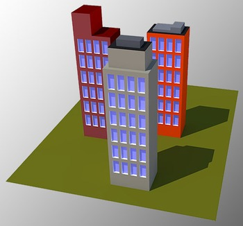 BUILDINGS IMAGE 3D ( Free )