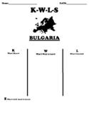 BULGARIA K-W-L-S Worksheet