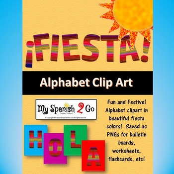 BULLETIN BOARD, BANNER OR CLIP ART:  FIESTA!