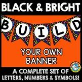 BULLETIN BOARD LETTERS PRINTABLE (BLACK AND BRIGHT CLASSRO