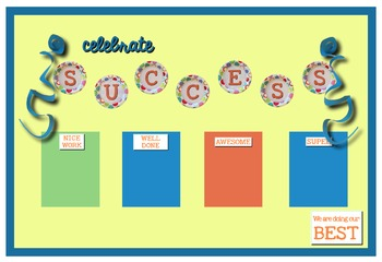 BULLETIN BOARDS for High School and Middle School to display student work