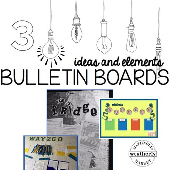 BULLETIN BOARDS for High School and Middle School to displ