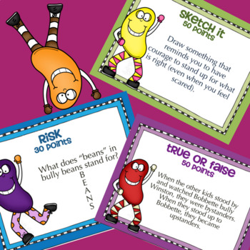 BULLY BEANS by Julia Cook: School Counseling Lesson about Bullying & Bystanders
