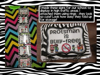 BULLY SIGN FREEBIE (EDITABLE)