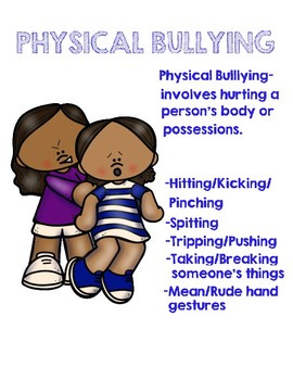 bullying 101 activity packet by buckeye school counselor tpt