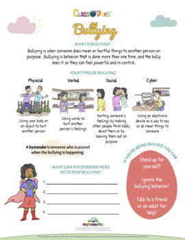 BULLYING CLASSPAK (PPS)
