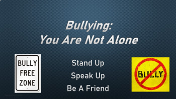 BULLYING PREVENTION UPstander Character Ed Lesson PBIS w 7 videos & scenarios