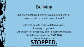BULLYING PREVENTION UPstander Lesson w 4 video links PBIS Character Ed
