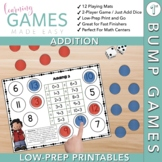 Addition Game -- First Grade BUMP