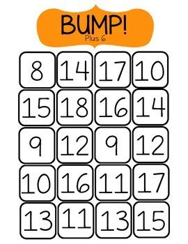 BUMP! Plus 6-Math Game