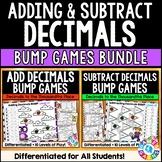 Adding and Subtracting Decimals Games Bundle {5.NBT.7}